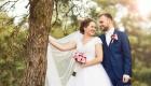 Bruidsfotografie buiten