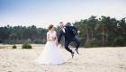 Bruidsfotografie - buiten