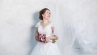 Bruidsfotografie - bruid studiofoto