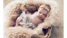 Newborn fotoshoot - close-up baby