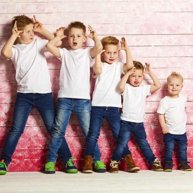 Portretfotografie met kinderen in de fotostudio